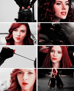 Black Widow: This is what I am now. And you'll never know who I was before