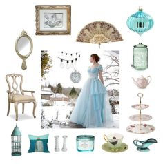 """""""TheVintageCinderella"""" by thevintagecinderella on Polyvore featuring interior, interiors, interior design, home, home decor, interior decorating, Crate and Barrel, Royal Albert, Thos. Baker and Hooker Furniture"""