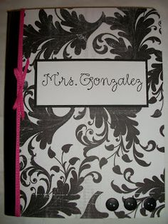 Cards {and} Cardigans: Composition Book