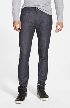 Nudie Jeans 'Tape Ted' Skinny Fit Jeans (Dry Open Twill) available at #Nordstrom