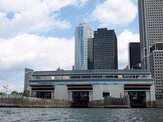 Staten Island Ferry Terminal, Lower Manhattan, New York City