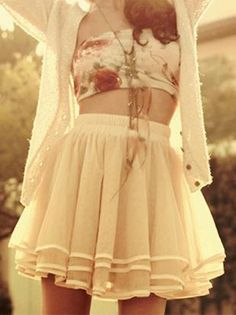 summer, #fashion - skirt