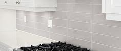 "Ames Tile & Stone Soho 3"" x 6"" and 4"" x 16"" Glazed Wall 2"" x 2"" Mosaics"