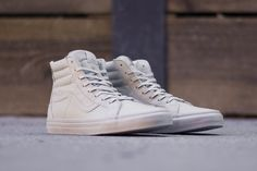 The Vans Sk8-Hi Zip CA Gets A Timely Boot Leather Release - KicksOnFire.com