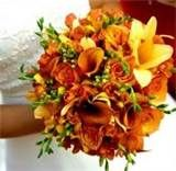 Image detail for -exotic wedding bouquets blue and orange bridal bouquet wedding bouquet ...