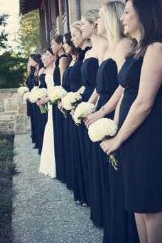 Shop the best bridesmaid dresses by Jenny Yoo, Watters, Sorella Vita and many more. Meet your free style consultant and try on bridesmaid dresses at home. Bridesmade Dresses, Black Bridesmaid Dresses, Bridesmaids, Wedding Dresses, Sister Wedding, Wedding Stuff, Wedding Day, Sarah Black, Ever After