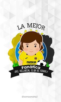 el mejor #Hincha del Villareal Club de Fútbol #portadas para móviles  #móvil #carcasas para Celular #somosMotta  #futbolEspañol #españa Club, Mugs, Cover Pages, Get Well Soon, Tumblers, Mug, Cups