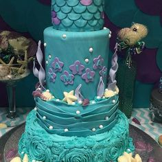 Under the Sea  fish cake 24........For more info, Please visit: https://cakerschool.com/