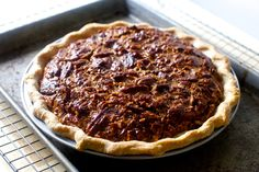 Smitten Kitchen Pecan Pie (check out the comments for tips on making it more pecan-dense vs gooey.)