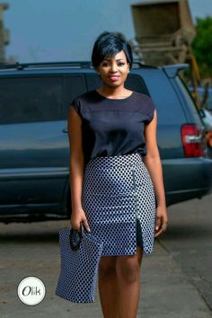 13 LATEST ANKARA SKIRT DESIGNS FOR THIS MONTH OF MAY. - NALOADED
