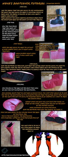 Boot cover Tutorial