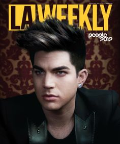 (May 2012, USA) Adam Lambert Covers one of 5 collectible 'L.A. Weekly' Magazines - 2012 Best People issue