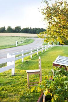 Om att bygga staket - Hildas hem
