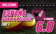 el forero jrvm y todos los bonos de deportes: wanabet España gana Belgica cuota 6 + 150 euros 1 ...