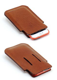 Compact iPhone 6 PLUS Leather Belt Holster w Collapsing Belt Loop by Fleur-de-Leather Leather Corset, Leather Wallet, Leather Cell Phone Cases, Phone Holster, Mobile Cases, Mobile Accessories, Leather Projects, Cute Bags, Leather Working