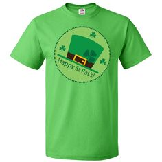 Happy St Patrick's Day Irish T-Shirt Kelly Green $18.99 www.homewiseshopperkids.com #Irish #StPatricksDay #t-shirt