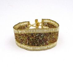 Road to Riches Beaded Wrist Cuff