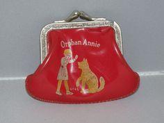 1930s Ophan Annie Childs Coin Purse