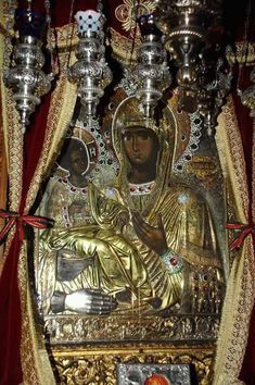 Троеручеца Orthodox Icons, Christianity, Mosaic, Workout Plans, Random Stuff, Saints, Angels, Child, Art