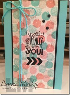 work of art NEW Stamp set from stampin up