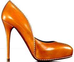 killer heels. And I love the color!