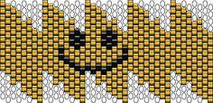 Gyöngyeim, és egyéb kreatív alkotásaim: Szmájli minta
