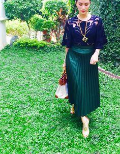 Heart Evangelista 💚 Formal Chic, Formal Wear, Heart Evangelista Style, Power Dressing Women, Classy And Fabulous, Classy Chic, Casual Chic Style, Dress Me Up, Queens