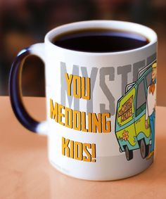 Take a look at this Scooby Doo Morphing Mugs™ Mystery Inc. Mug today!