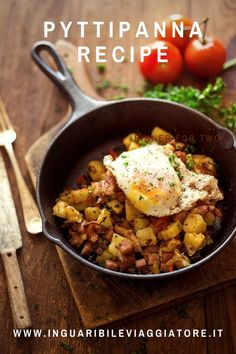 Pyttipanna or the Swedish pie has a simple recipe and is one of the Swedish dishes that can best be replicated at home because it is a ... #swedishrecipe #scandinavianrecipes #bacon #sausage #pyttipanna #recipe