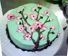 inspired by Arizona Ice tea Cherry Blossom Cake Arizona Green Teas, Arizona Tea, Tea Cakes, Cupcake Cakes, Cupcakes, Tea Wallpaper, Cherry Blossom Cake, Japanese Candy, Japanese Desserts