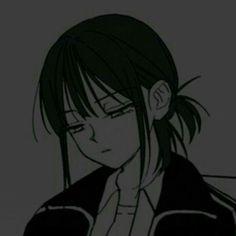 Emo Anime Girl, Dark Anime Girl, Sad Anime, Kawaii Anime Girl, Cute Anime Pics, Cute Anime Couples, Anime Monochrome, Gothic Anime, Anime Best Friends