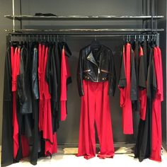 SYMPHONY IN RED & WITHOUT RED   AW15-16 by @kadirkilic   #red #black #cool #silhouette #strong #fur #leather #fashion #newyear #christmas #store #love #follow #followme #miin #miinofficial