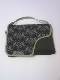 JJ Cole Collections Changing Pad Tote Green and Black