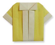 Origami BlouseThis site has animation showing you step by step how to fold the paper!