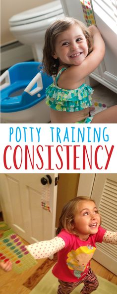 When Potty Training, consistency is the key! When using rewards, keeping stickers and a chart in every bathroom in the house keeps potty training top-of-mind. Stickers hooked onto a door-knob, keeps the prize eye-level, and lets your potty trainer take pride in their success. Letting them reward themselves esteems the child to take ownership of the potty training process!