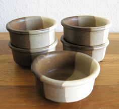 Fabrik Stoneware Agate Pass Bowls-Set of 5 by MarketHome on Etsy, $25.00