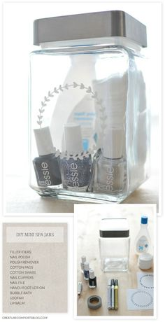 Need a gift for a college friend birthday or holiday? This is a great idea! Diy Customized Gift Jars With Free Templates!