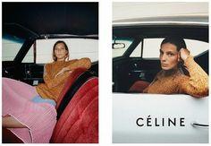 Daria Werbowy for Céline Resort 2015 Ad Campaign