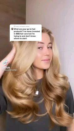 Hair Tips Video, Hair Videos, Hair Growing Tips, Hair Up Styles, Diy Hair Care, Healthy Hair Tips, Aesthetic Hair, Hair Health, Gorgeous Hair