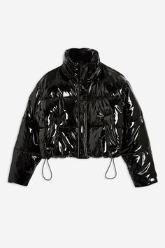 Vinyl Puffer Jacket- Was Now Girls Fashion Clothes, Edgy Outfits, Winter Fashion Outfits, Mode Outfits, Cute Casual Outfits, Cute Jackets, Jackets For Women, Look Vintage, Puffer Jackets