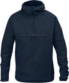 Fjallraven Men's High Coast Wind Anorak Jacket, Navy, X-Large Anorak Jacket, Windbreaker Jacket, Jacket Men, Rain Jacket, Tactical Clothing, Outdoor Outfit, Jacket Style, Shirt Style, Leather Men