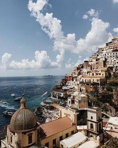 "1,361 Likes, 19 Comments - Yanina (@diaryofdays) on Instagram: ""Positano, place from my dream ♡ #ItalianDays #2inPositano #amalficoast"""