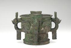 Ritual grain server (gui) with taotie and dragons  ca. 1045 B.C.E.
