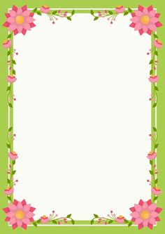 Never Green 1 Boarder Designs, Frame Border Design, Page Borders Design, Flower Background Images, Picture Borders, School Border, Certificate Design Template, Boarders And Frames, Scrapbook Frames