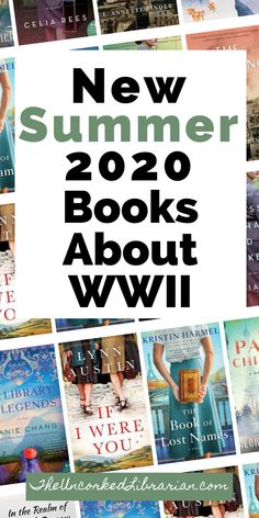 Summer 2020 new WWII books: Are you looking for new WW2 books to read tthis summer 2020? Don't miss some of the summer's most-anticipated books about World War 2 and books set during WW2 on this reading list. Book Club Books, Book Lists, Best Historical Fiction Books, Read It And Weep, Indie Books, Fiction And Nonfiction, Best Books To Read, History Books, Historia
