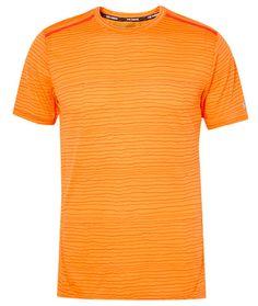 NIKE RUNNING Cool Tailwind Stripe Dri-FIT T-Shirt