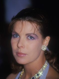Princess Caroline of Monaco at the Red Cross Ball.August 7,1987.