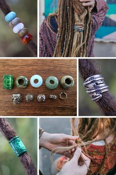 Beautiful and Unique Dreadlock Beads and Accessories from Mountain Dreads. Products for Dread Care and stunning accessories for Dreadlocks. Gemstone Dread Beads, Spiralocks, Crochet Hooks for Dreadlock Maintenance + more. www.mountaindreads.com #dreadlock