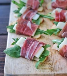Prosciutto Wrapped Apple Bites | The Nutrition Adventure