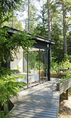 Vierasmaja metsän siimeksessä | Meillä kotona
